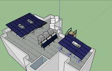 نظام طاقة متجددة /شمسية  ،توفير كهرباء