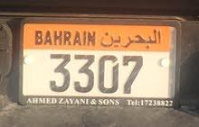 للبيع رقم سيارة نقل خاص مميز 3307