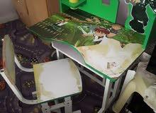 مكتب أطفال مع كرسي للبيع
