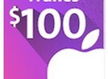 بطاقة ايتونز المتجر الأمريكي 100$ بسعر رخيص