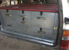 صندوق سيارة تويوتا لبوه مقسم ادراج للبيع