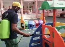 تنظيف صيانة وتعقيم وتطهير كل مكاتب المؤسسات العامة والخاصة