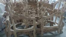 لبيع يوجد عندى اطقم كنب مصرى خشب من دمياط جديد