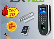 الحل الأفضل للمكاتب والشركات: وحدة مراقبة الدوام والتحكم بالمداخل ZKT F19
