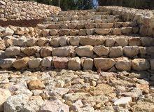 استصلاح اراضي جميع انواع الحفريات بناء سناسل تشيك مزارع