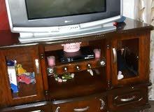 تلفزيون مع رسيفر  وخزانه