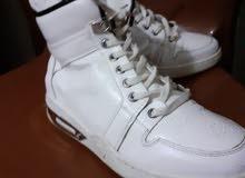 حذاء ابيض بوط تركي