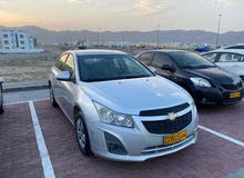 Chevrolet Cruze 2014 For sale - Silver color