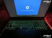 Dell i7-7700HQ سرعة 2.8 -4جيجا، رام 16، قرصين 128SSD+1TB ، كرت 1050 nVid