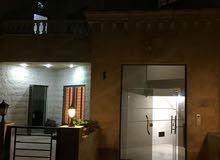 1187- شقة ارضية جديدة  للبيع في الجبهة  150م مع ترس 60م بسعر 90الف