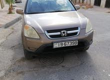 Gold Honda CR-V 2002 for sale