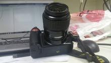 كاميرا نيكون دي 60 بحالة جيدة جداً للبيع