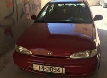 Manual Maroon Hyundai 1997 for sale