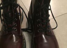 Dr Martins black red Size 38