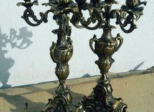 Antique bonze lamp