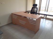 مكتب مدير خشب mdf بسعر مفاجاه