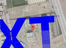 4 قطع سكني تجاري الخوض شارع البركات