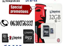 Kingston carte mémoire mn 4GB jusque 128GB