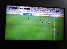"""شاشة LG سمارت 43 """" التلفزيون الذكي مستعملة لفترة بسيطة"""