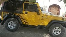 For sale 2001 Yellow Wrangler