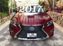 لكزس اي اس es300 (2017) ليمتد عداد 18الف بحالة الزيرووو Lexus Es300h