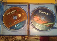 fifa19 and uncharted 4