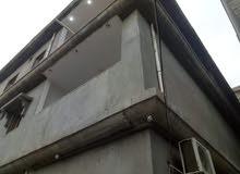 عماره علي طريق لوطيه بعد شارع الحوات ثلاث طوابق  ارض مساحته 50 متر محلات ع طريق