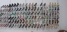 تصفية محل احذية اطفال بنات ونساء تقريبا في حدود 2000 قطعة