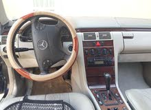 Black Mercedes Benz E 200 2000 for sale