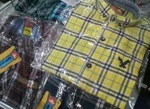 قميص محير كاروهات مقاسات متنوعة ألوان