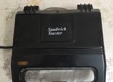 للبيع (sandwich toaster ) 800 watt صناعة ألمانية