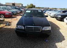 Used condition Mercedes Benz C 180 2000 with +200,000 km mileage