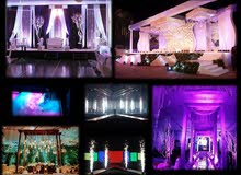 Wedding decoration, Stage effects, LED screens, Sound & Light, etc.......