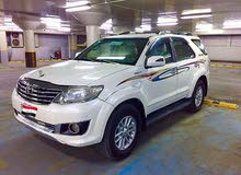 Gasoline Fuel/Power   Toyota Fortuner 2012