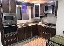 شقة راقية للايجار في قلالي مفروشة بالكامل وشامل الكهرباء 300 دينار