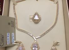 Zircon  jewelry set /ست جواهرات زیرکون