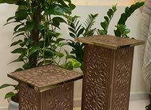 طاولات متوفرة بجميع الاحجام مصنوعة يدويا باحتراف