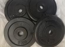 dumbbells plate 20 kg 4 plate