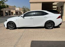 Lexus IS350 F sport under warranty