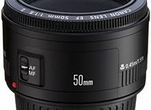 Canon  50mm prime lens  1.8 ii