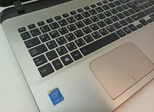 توشيبا c55 سلم حديث الجيل الرابع كور اي 3 رام 4gb هاردسك 500gb شاشة 15.6