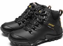 الرجال حذاء للسير مسافات طويلة مقاوم الماء أحذية من الجلد تسلق و الصيد أحذية جدي