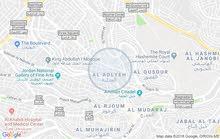 Jabal Al Hussain neighborhood Amman city - 100 sqm apartment for rent
