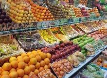 معلم فواكه وخضروات يمني مقيم