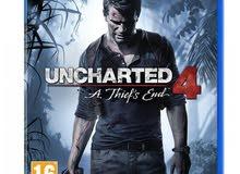 تعديل سعر لعبة UNCHARTED 4 مستخدم نظييييف للبيع