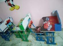 مقاعد دراسيه لاطفال الروضه والتمهيدي