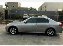 Infiniti G35 Used in Tripoli
