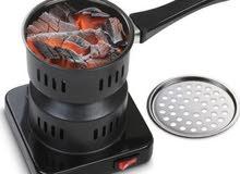 طباخة الفحم الكهربائيه