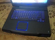 لاب توب Dell Alienware M 15x gaming laptop ممتاز وسريع جداااا في الألعاب و الجرا