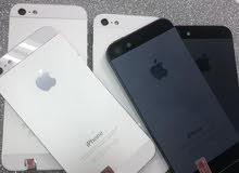 الهاتف الاسطورى من ابل ايفون 5 ذاكره 32 مع ملحقات والضمان